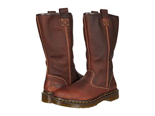 Dr. Martens womens BELSAY NS Pull on boot Teak Industrial Bear, 9 US medium