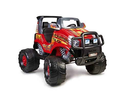 Feber Monster Truck Challenger - Coche eléctrico de 2 plazas para niños y niñas, a partir de 3 años, 12V (Famosa 800012464)