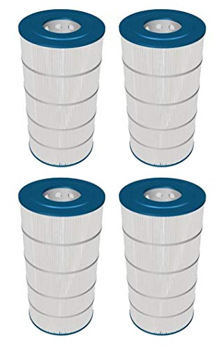 Hayward 4 150 Square Ft Replacement Swimming Pool Filter Cartridges | CCX1500RE