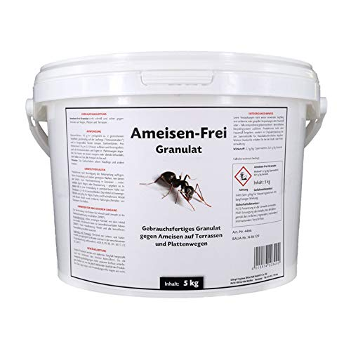 Schopf Ameisen-Frei Granulat 5 kg - Gebrauchsfertiges, gut lösliches Granulat gegen Ameisen zum Streuen und Gießen