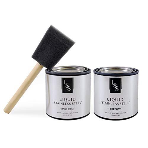 Gamme liquide en acier inoxydable et kit lave-vaisselle, génération 2, 100 % acrylique