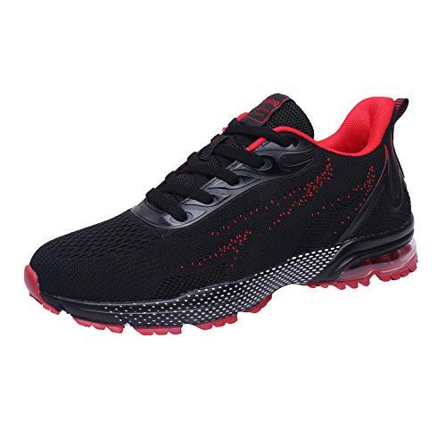 VVQI Zapatos para Correr Hombres Mujeres Zapatillas de Deporte Zapatos Deportivos Moda Ligero Zapatos Transpirables Casuales