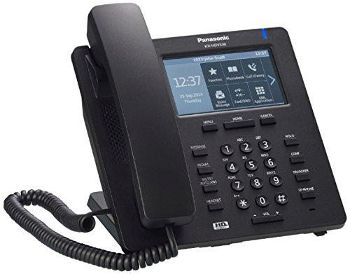 Panasonic KX-HDV330 IP-Telefon Schwarz Kabelgebundenes Mobilteil TFT 12 Zeilen - IP-Telefone (Schwarz, Kabelgebundenes Mobilteil, Blau, Tisch/Wand, TFT, 10,9 cm (4.3 Zoll))