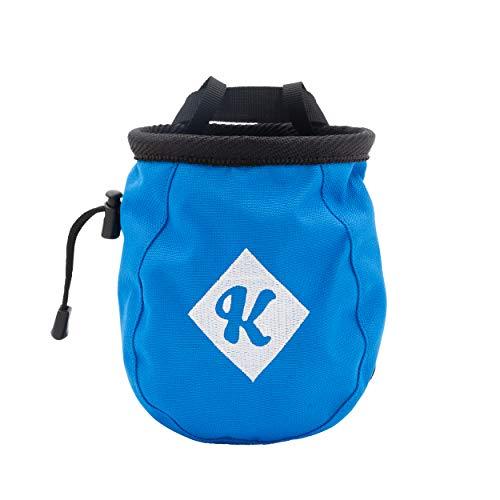 Café Kraft Chalkbag Bleu avec Logo K Ceinture en magnésium