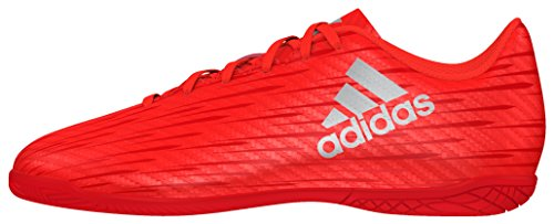 adidas Jungen X 16.4 In Fußballschuhe, Orange (solar Red/Silver Metallic/hi-Res Red), 36 EU