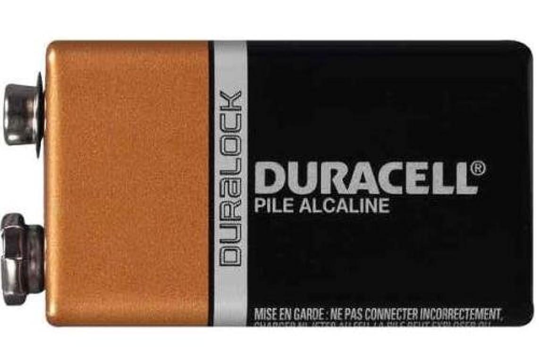 8 x 9 Volt Duracell Alkaline Batteries (MN1604)