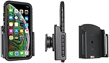 Brodit 711083 Passive Holder with Swivel Base for Apple iPhone Xs Max with Case, Black