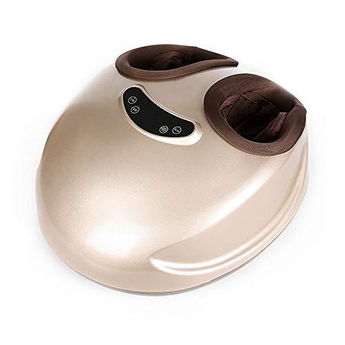 Verwarmde Shiatsu Foot Massager Remote Electric Foot Massager 360 ° Airbag Verpakt Massage 5 manieren, Intelligent regelen van de temperatuur hierdoor minder Foot Pain en,Champagne