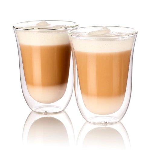 Cucina di Modena Kaffeeglas: Doppelwandige Latte-Macchiato-Gläs...