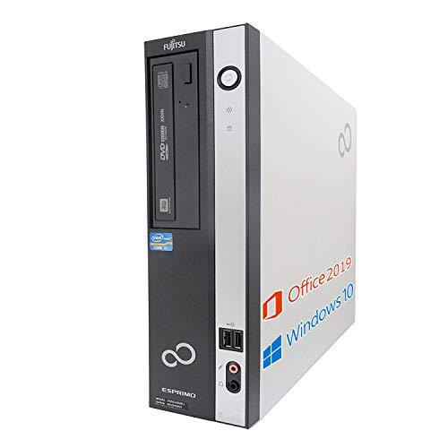 【Microsoft Office 2019搭載】【Win 10搭載】富士通 D582/E/第三世代Core i5-3470 3.2GHz/新品メモリー:8GB/HDD:1TB/DVDスーパーマルチ/USB 3.0/HDMI変換ケーブル付、HDMI出力可能/新品無線キーボードとマウス/無線機能/中古デスクトップパソコン (HDD:1TB)