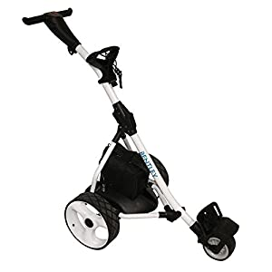 Bentley Elektro-Trolley Golf-Caddy - 200 W 35 A-Batterie - Weiß
