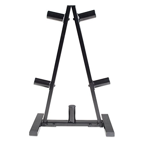 CAP Barbell A Frame Olympic Plate Rack, Dark Gray