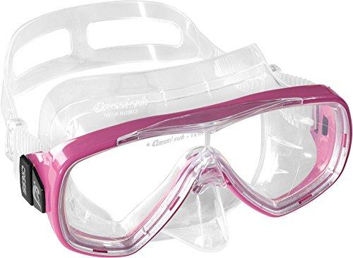 Cressi Taucherbrille Erwachsene, Herren und Damen - Tauchermaske, Made in Italy, rosa, DN207040