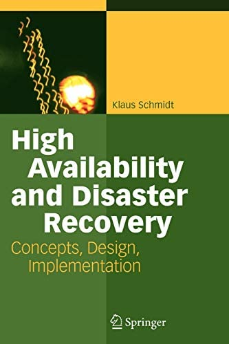 High Availability and Disaster Recovery Concepts Design Implementation product image