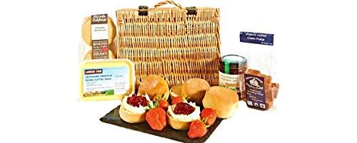 Cream Tea Hamper with Fudge & Shortbread Local Devon Produce
