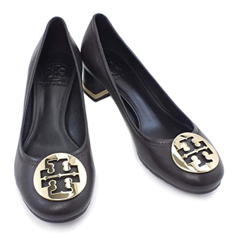 [トリーバーチ] 靴 パンプス ダークブラウン×ゴールド (50008625 215 COCONUT/GOLD) [並行輸入品]