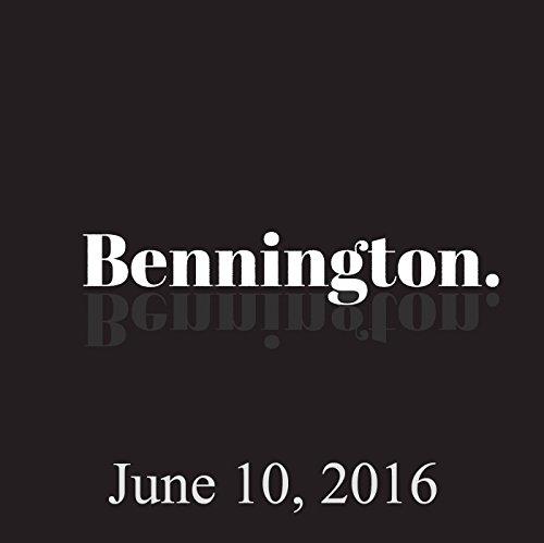 Bennington, Yannis Pappas, June 10, 2016 cover art