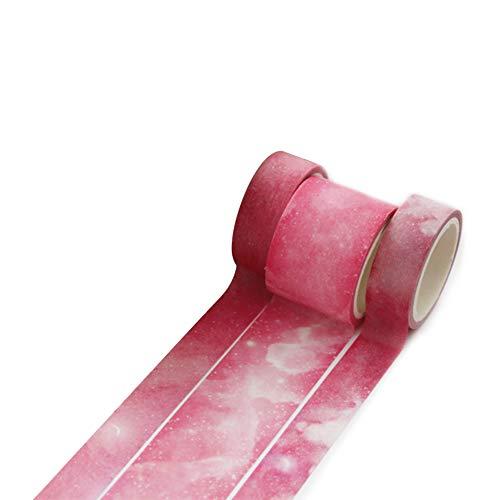 JUNGEN Washi Tape Cinta Adhesiva Washi Decorativa, Kawaii Washi Tape, para Manualidades, Pegatinas, Scrapbooking, Material Escolar, Stickers, Regalos