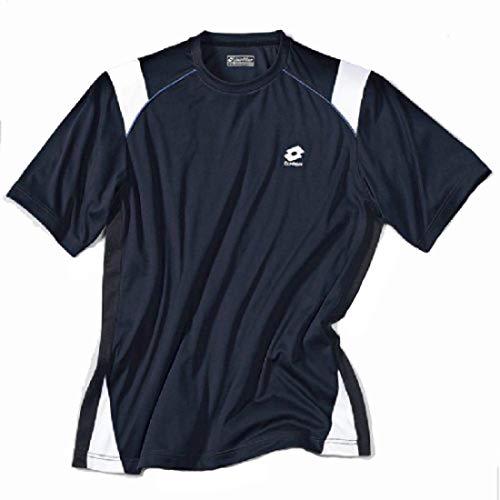 Lotto T-shirt Race RN junior enfant taille S jr (US) bleu marine/blanc
