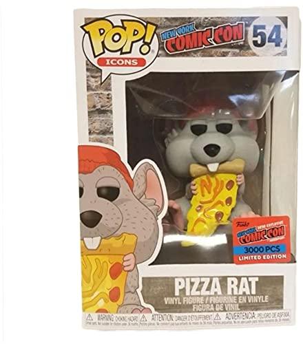 Funko Rata de pizza con sombrero rojo exclusivo