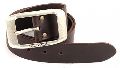 TOM TAILOR Belt TW602L01 W85 Dark Brown