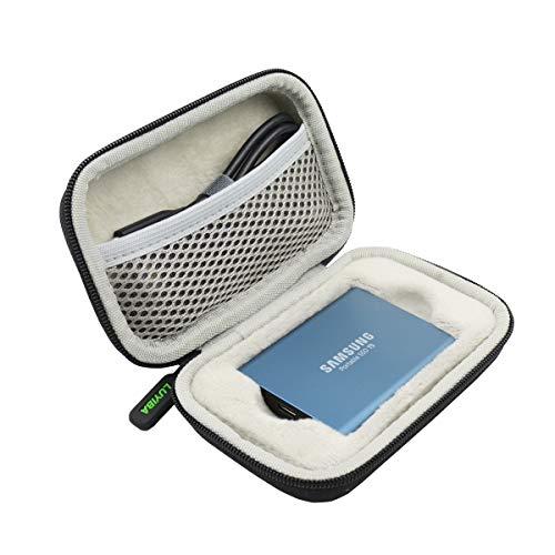 LUYIBA para Samsung T3 / T5 250GB 500GB 1TB 2TB SSD USB 3.0 Disco SSD Portatíl Duro Viaje Estuche Bolso Funda