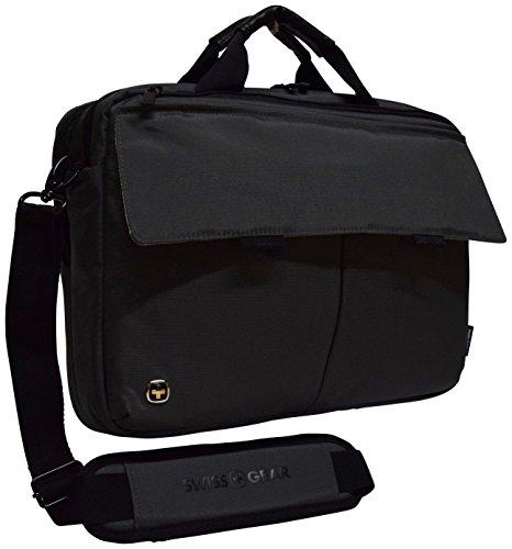 "Swissgear Route Messenger Bag With 16"" Laptop Pocket, Grey (Grey)"