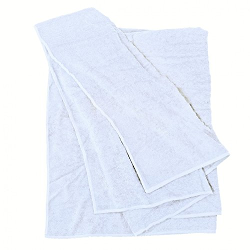 XXL Handtuch Übergröße 100x220 und 155x220 weiß von Big-Basics, Größe:100x220