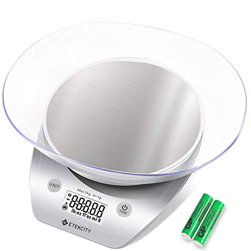 Etekcity Digital Food Scale with Bowl