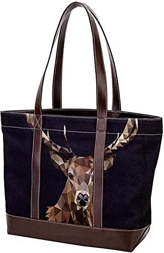 SpiceRack Umweltfreundliche Tasche für Mutter Frauen Mädchen Damen Student Handtaschen Leichte Riemen Umhängetaschen Einkaufstasche Happy Halloween Vampir Hexe Geldbörse Einkaufen