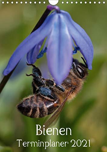 Bienen-Terminplaner 2021 (Wandkalender 2021 DIN A4 hoch)