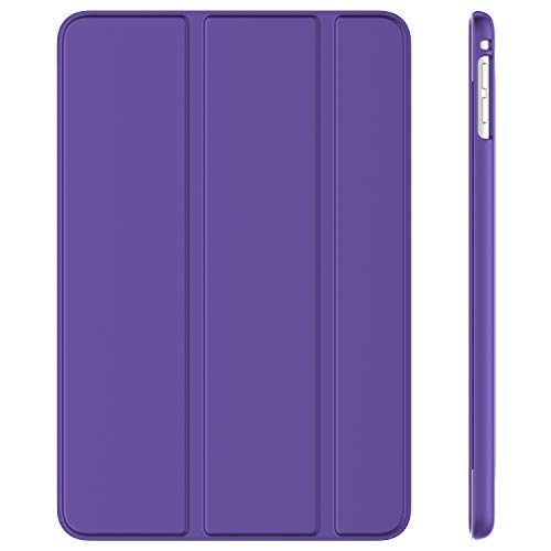 JETech Case for iPad mini 5 (2019 Model 5th Generation), Smart Cover with Auto Sleep/Wake (Purple)