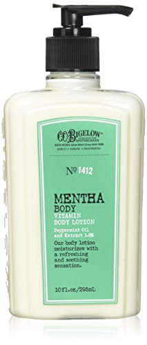C.O. Bigelow Mentha Vitamin Body Lotion 10 Oz.