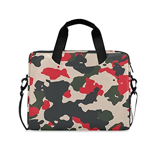 JNlover Camo Pattern Laptop Bag 16 inch, Portable Sleeve Briefcase Laptop Case Notebook Computer Carrying Case Bag for Women Men