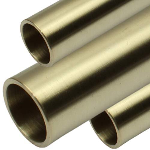 Bronzerohr Rundrohr Außendurchmesser Ø 25mm – Innendurchmesser Ø 20 mm Wandstärke 2,5mm CW307-Aluminiumbronze Stranggepresst in Längen mm von 200
