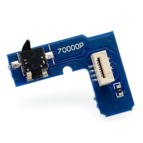PartEGG - Interruptor de botón de reinicio para Placa PCB de Repuesto para Sony PS2 Playstation 2 Slim Console SCPH 7000X (terceros)