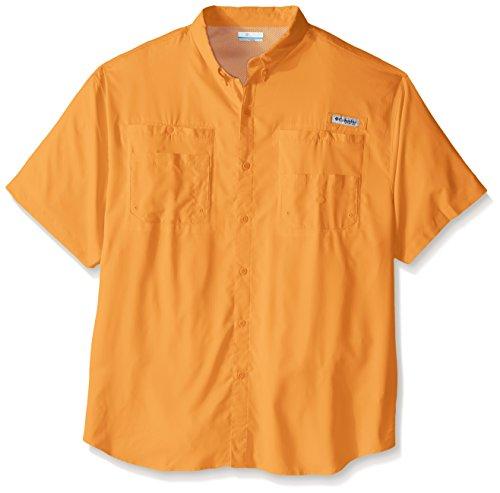 Columbia Camiseta de Manga Corta Tamiami II para Hombre, Hombre, 1287053, Ámbar, 1 Unidad