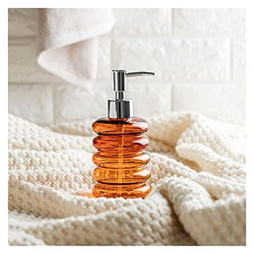 dispensador de jabón Dispensador de jabón de vidrio de 300 ml Botella de champú para champú para el hogar Loción para el hogar Dispensador de jabón líquido, baño Home Hotel Baño Accesorios de aseo Dis