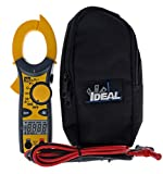 IDEAL INDUSTRIES INC. 61-744 Clamp Meter 600 Amp AC with NCV, Voltage Indicator