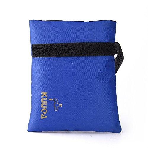 KUUQA Cubierta de Grifo de Jardín Exterior Calcetines para Protección contra Congelamiento (Azul)