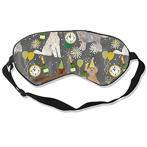 Máscara de sueño de seda natural para perro, máscara de ojos súper suave