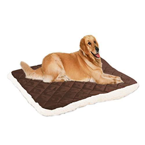 Cama suave para mascotas lavable para toda la temporada, cómoda para perros pequeños, grandes, grandes, gatos y gatos