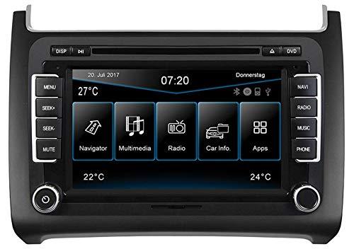 ESX VW Polo 6C (ab 04/2014) 2-DIN Autoradio Navi VN720-VO-P6C-GREY