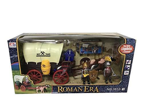 Diligencia Romanos Figuras Caravana Luces Sonido/carruaje