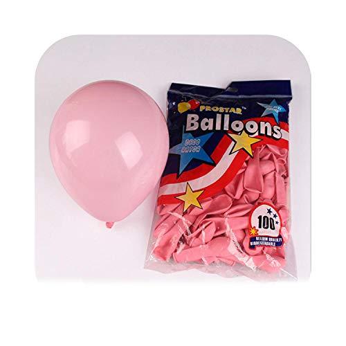Vorschlag Party Dekorationen 5 Zoll Hochzeitsfeier Dekoration Helium Ballon Kinder Geburtstagsgeschenk Jubiläum-Pink-10pcs,