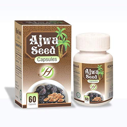 Zumzumstore Al Ajwa Seeds Heart Health Tablet - Best Al Ajwa Dates Supplements - Fresh Natural Palm Dates for Heart, Blood Pressure and Cholesterol Control Tablets