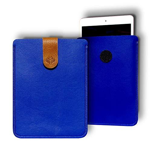 Funda para Tablet 7', 8', 9', 9.7', 10.1' - Universal - Personalizable, Compatible Tableta 7, 8, 9, 9.7, 10.1 Pulgadas (9', Azul)