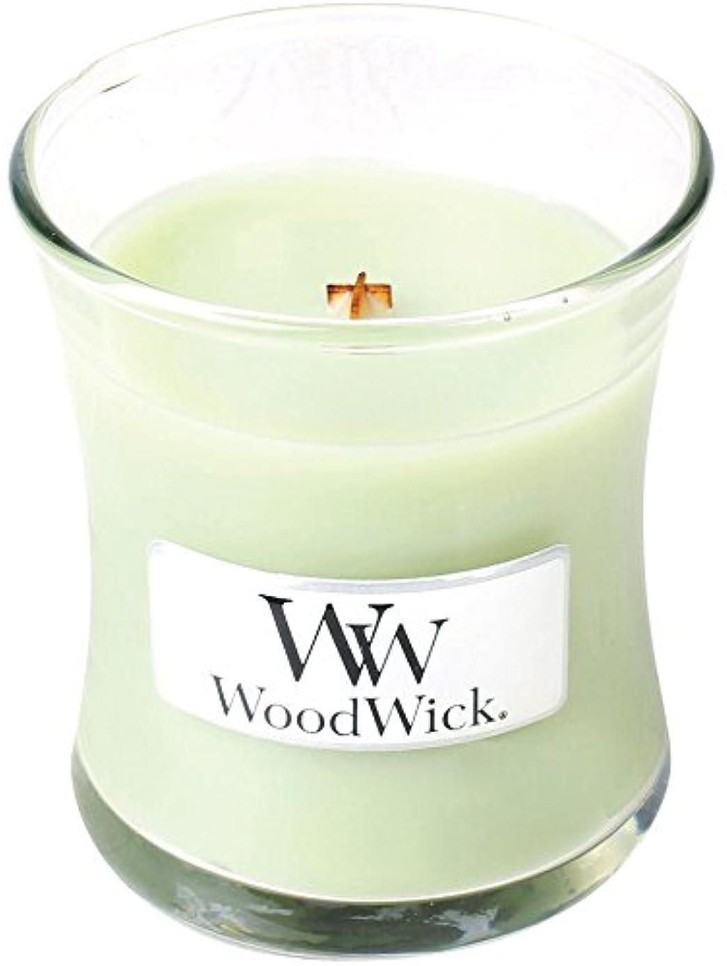 震える消防士パスWood Wick ウッドウィック ジャーキャンドルSサイズ ライムジェラー