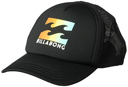 BILLABONG Jungen Podium Trucker Schirmmütze, Black/Yellow, One Size