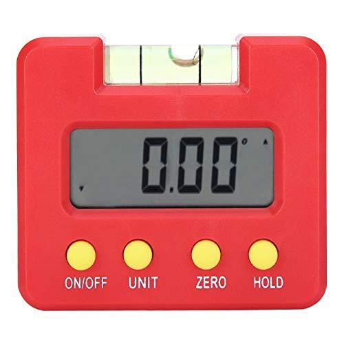 Bediffer Inclinómetro digital sensible con indicador de nivel magnético